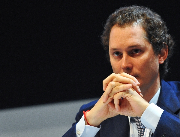 Fiat deputy chairman John John Elkan loo
