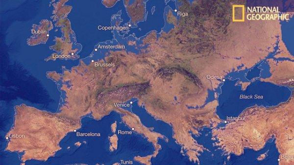 europa-tuttacronaca-scioglimento ghiacci
