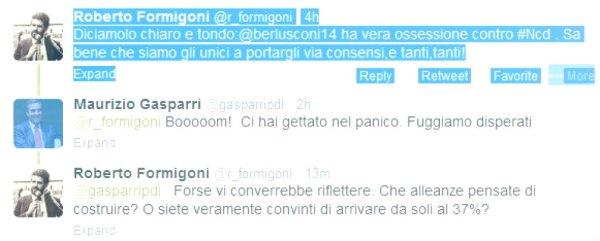 gasparri,formigoni.twitter-tuttacronaca