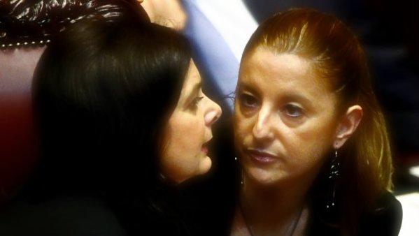 Laura-Boldrini-e-Roberta-Lombardi-tuttacronaca