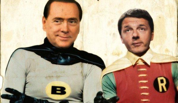 Matteo-Renzi-Silvio-Berlusconi_tuttacronaca